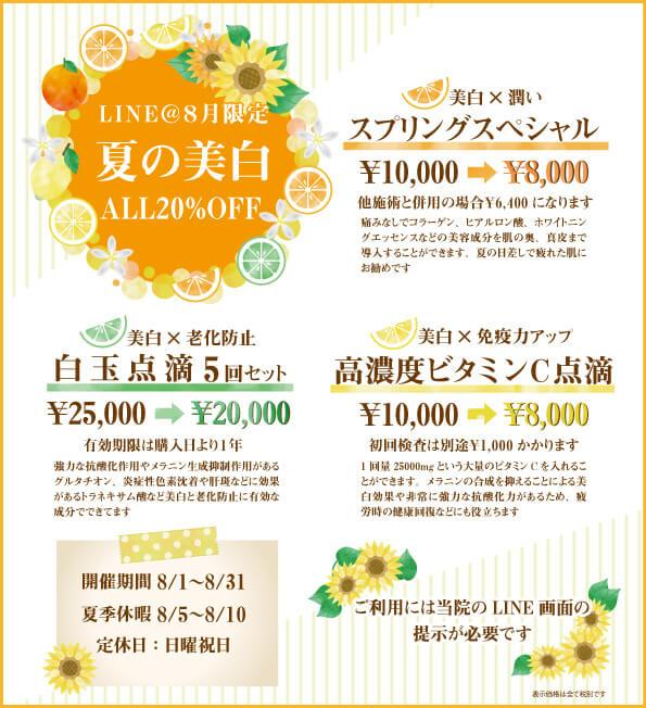 Lineキャンペーン2019/8