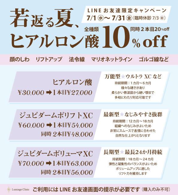 Lineキャンペーン2020/7
