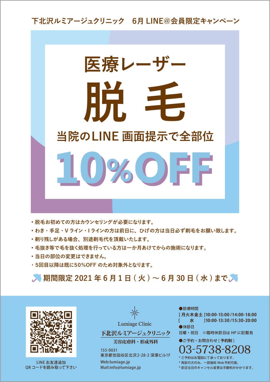 Lineキャンペーン2021/6